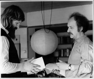 Willem Vermandere en Hedwig Speliers in 1973