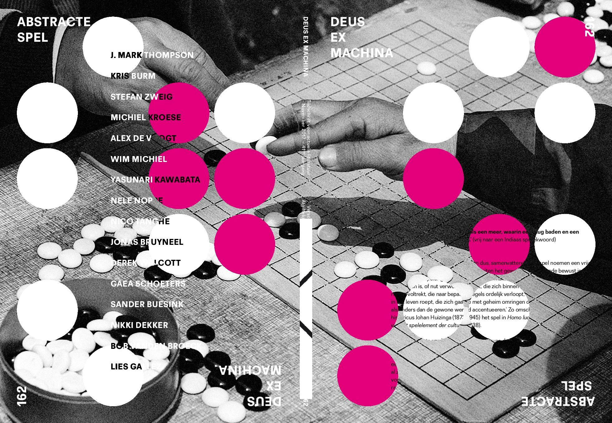 DEUS EX MACHINA NR 162: Het abstracte spel