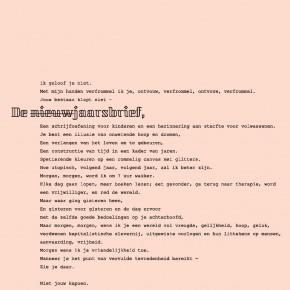 NIeuwjaarsbrief van Kei Sendak