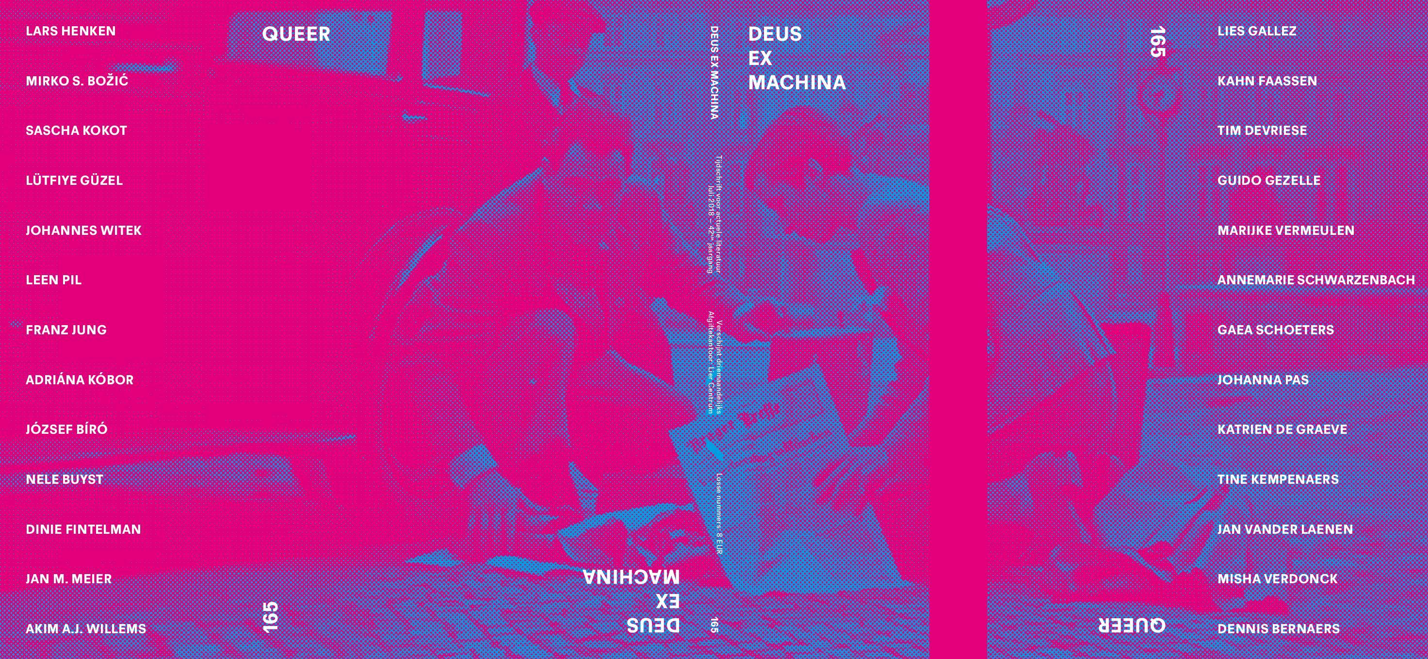DEUS EX MACHINA NR 165 : QUEER + Minifocus op TAU