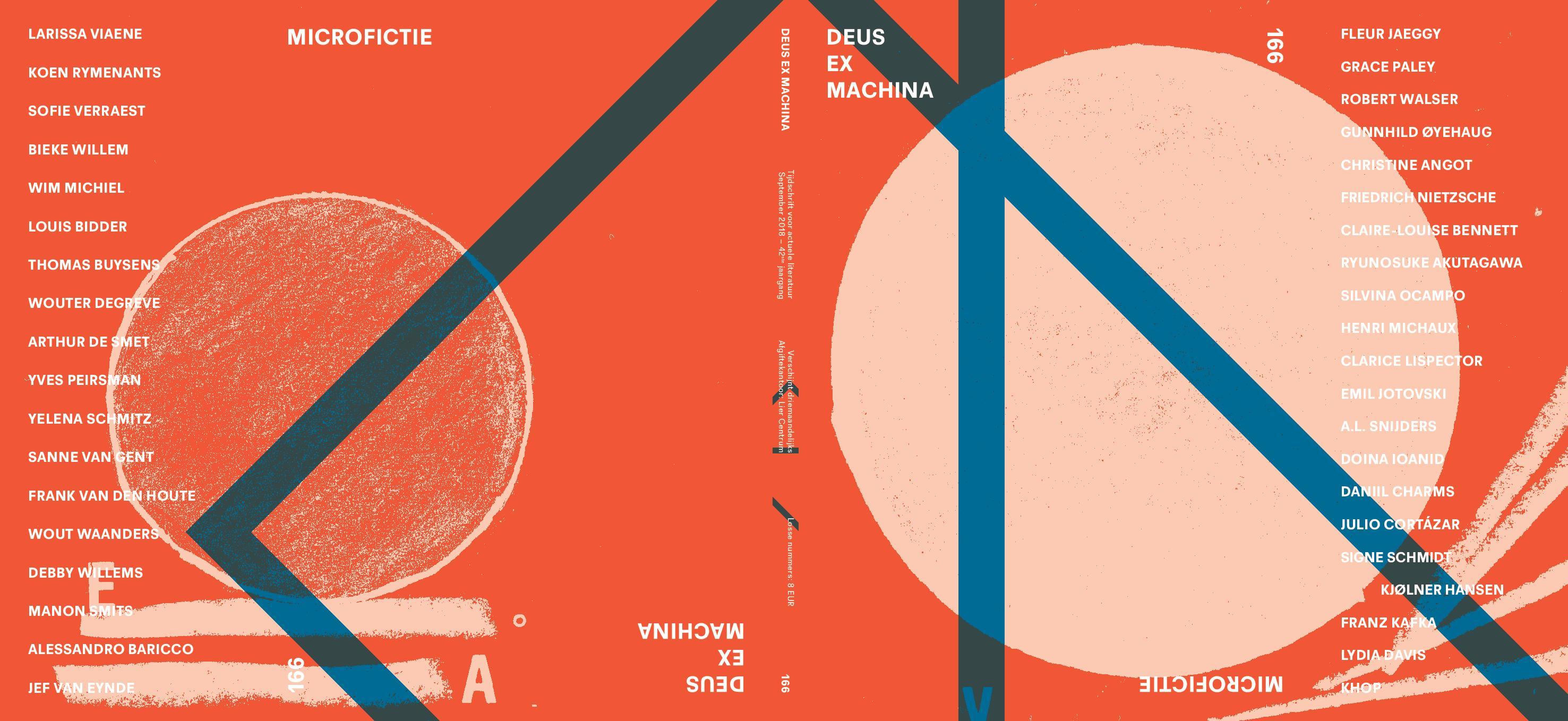 DEUS EX MACHINA NR 166: Microfictie